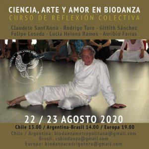 Conferencia on-line sobre Biodanza, ciencia, arte y amor