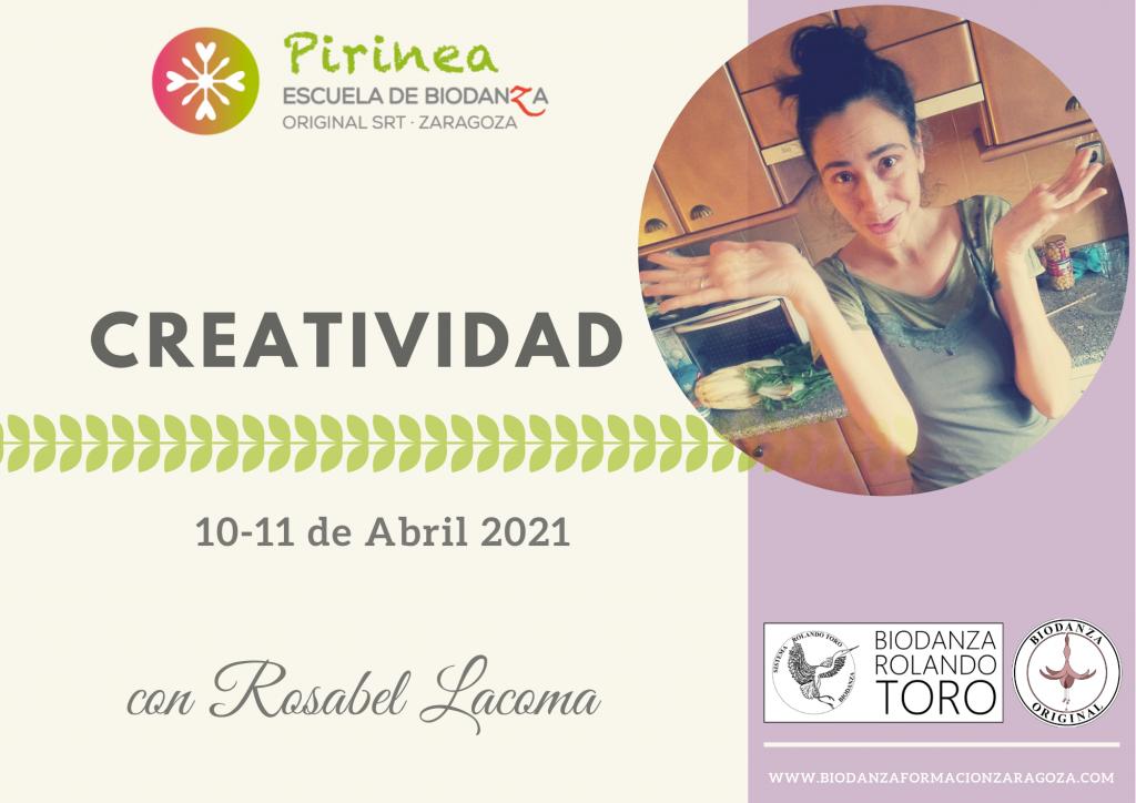 Formación Biodanza Zaragoza. Creatividad