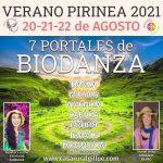 7 Portales de Biodanza. Agosto 2021